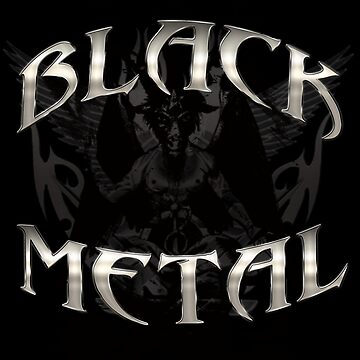 BLACK METAL BAPHOMET ***find hidden gems in my portfolio*** by sleepingmurder