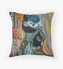 Dreaming of Mardi Gras Throw Pillow