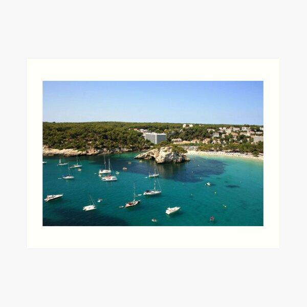 Cala Galdana, Menorca Art Print