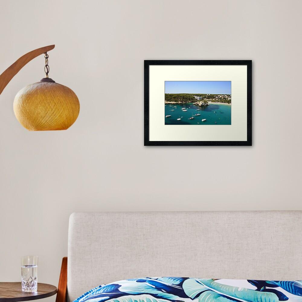 Cala Galdana, Menorca Framed Art Print