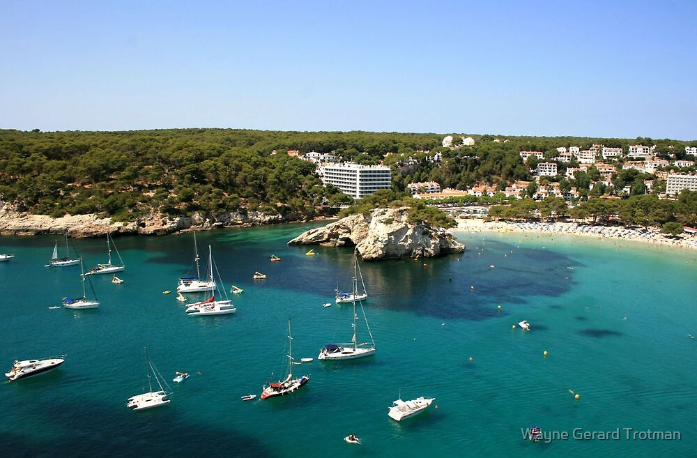 Cala Galdana, Menorca by Wayne Gerard Trotman