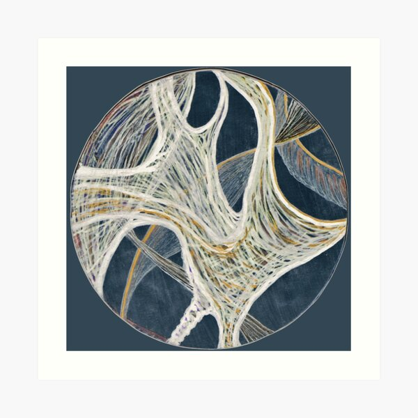 Curves in the Circle Art Print