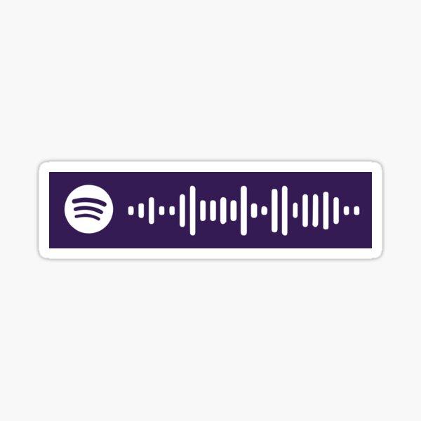 Niveles por código de escaneo Avicii Spotify Pegatina