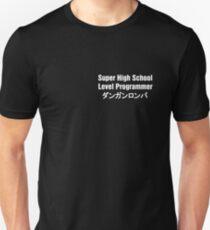 Danganronpa SHSL Programmer (White Text) Unisex T-Shirt