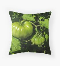 Fried Green Tomatoes Throw Pillow