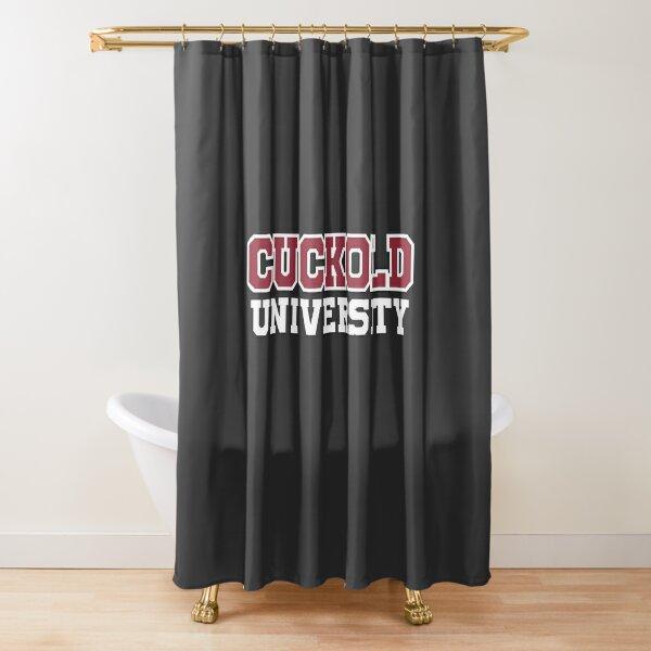Cuckold Universität Duschvorhang