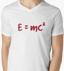 E = mc 2 einstein T shirts Men's V-Neck T-Shirt