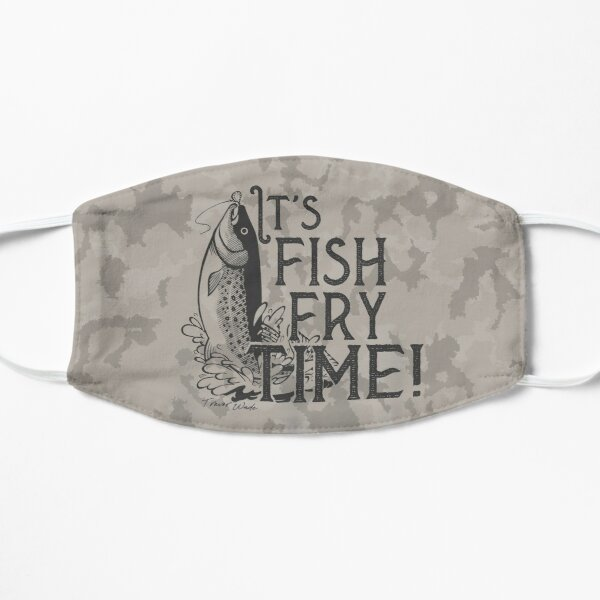 It's Fish Fry Time Mask