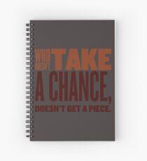 Portuguese proverb  Spiral Notebook