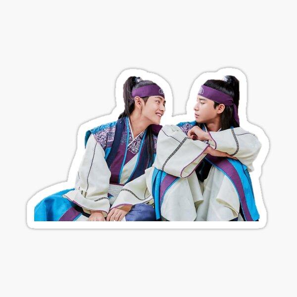 Hwarang Kim Taehyung et Park Seo Joon Sticker