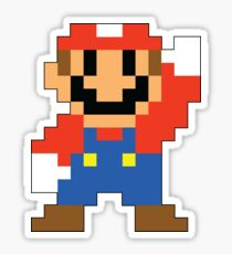 Super Mario Maker - Modern Mario Costume Sprite Sticker