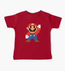 Super Mario Maker - Modern Mario Costume Sprite Kids Clothes