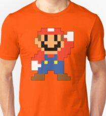 Super Mario Maker - Modern Mario Costume Sprite Unisex T-Shirt