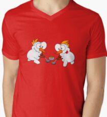 Curling snowmen T-Shirt