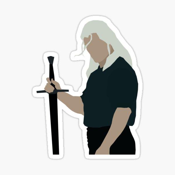 Geralt von Rivia Aufkleber Sticker