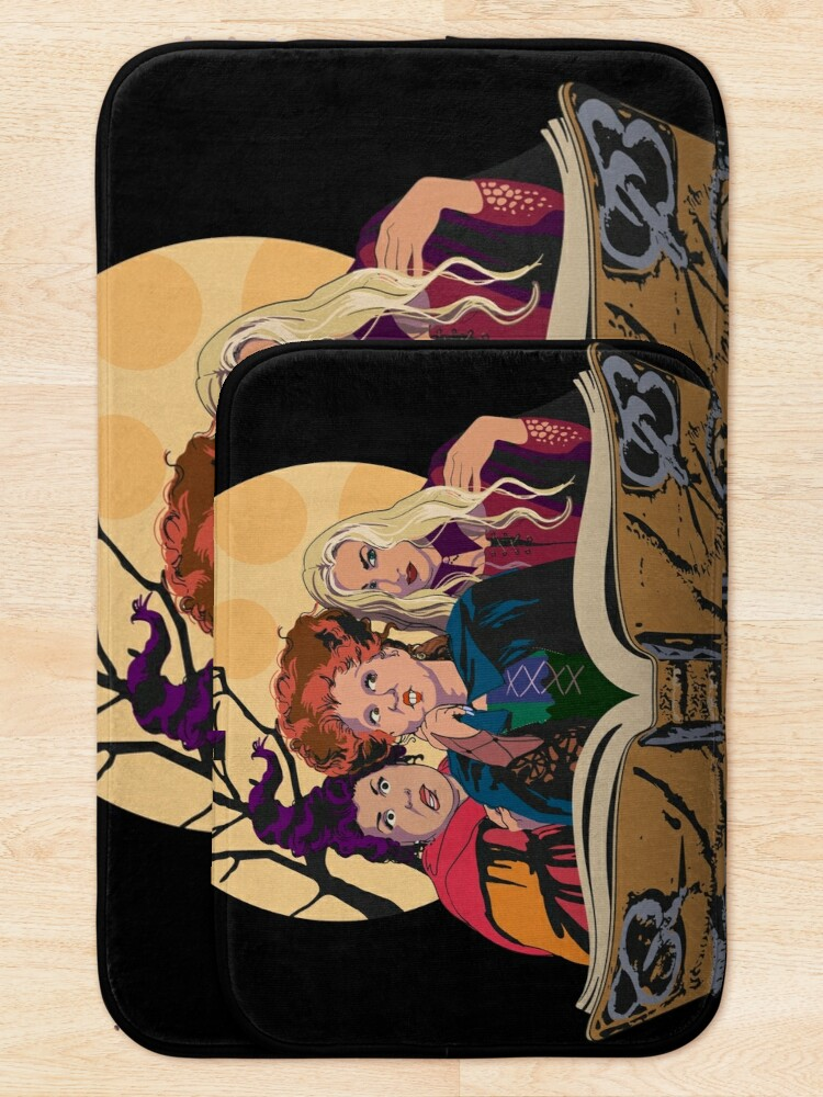 Alternate view of Hocus Pocus Sanderson Sisters Bath Mat