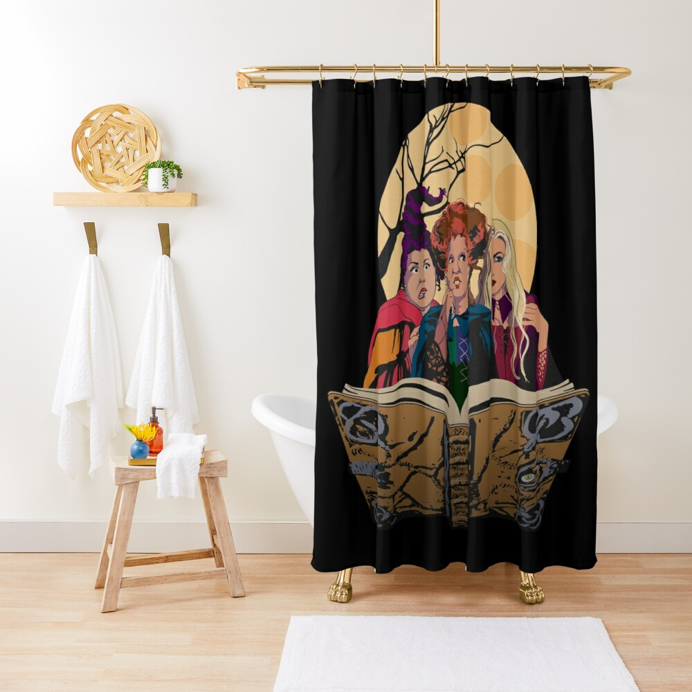 Hocus Pocus Sanderson Sisters Shower Curtain