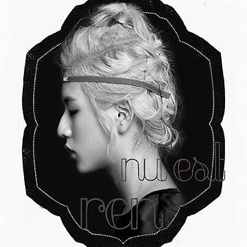 Ren- NU'EST by TheBeardedOne