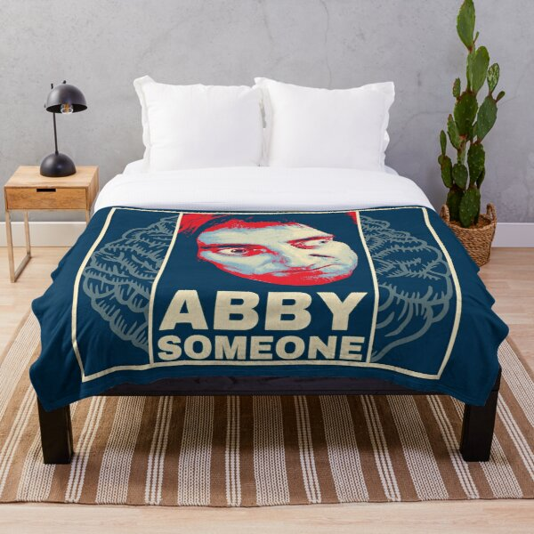 Abby Someone from Young Frankenstein Throw Blanket