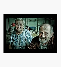 grandparents Photographic Print