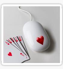 Queen Of Hearts Sticker