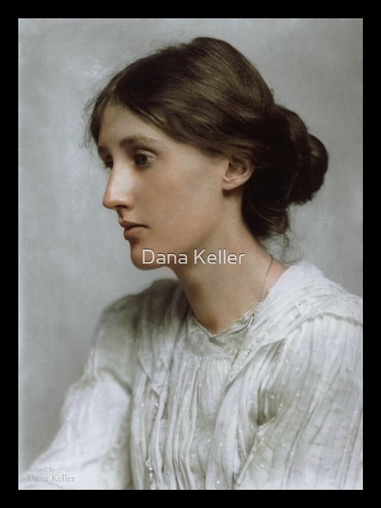 Virginia Woolf, 1902 by Dana Keller