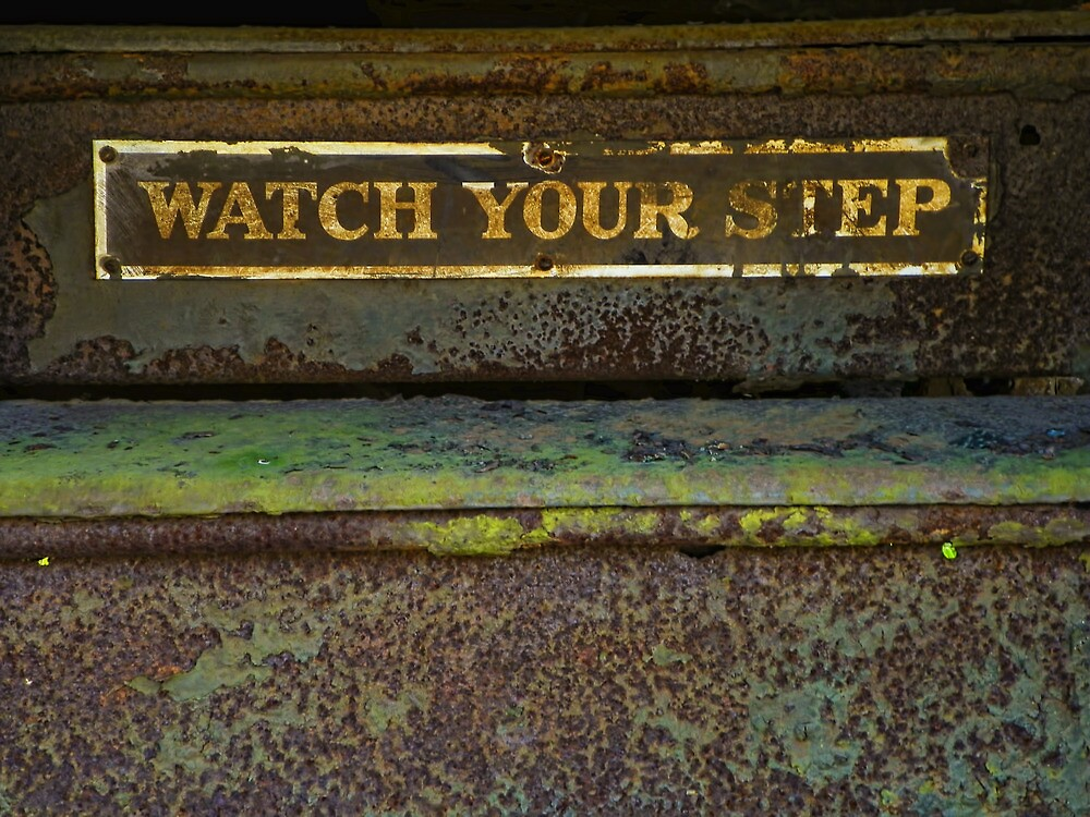 Watch Your Step by PineSinger