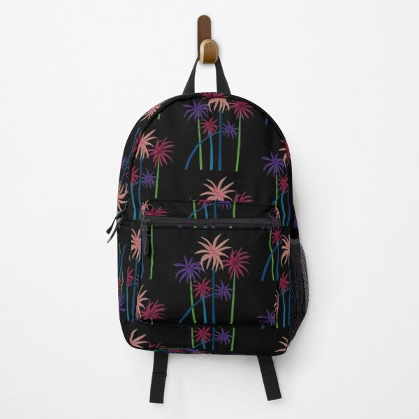 Neon Palm Trees Backpack