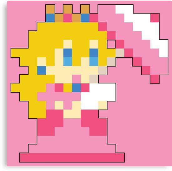 Super Mario Maker - Princess Peach Costume Sprite\