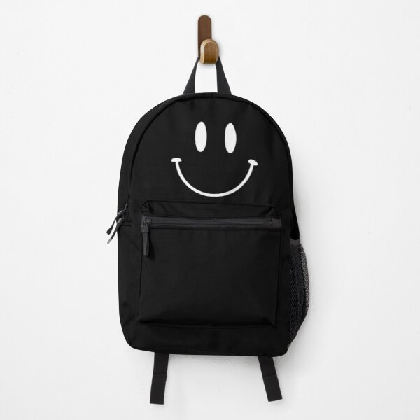 Black   Reverse   2   Smiley    Backpack