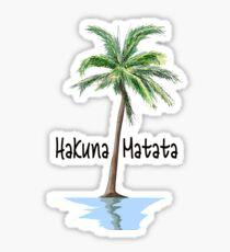 Pegatina Hakuna Matata