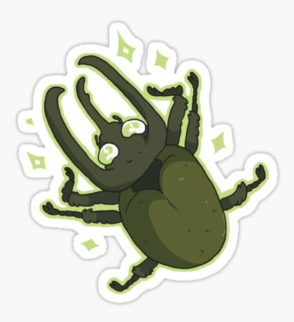 Atlas Beetle Sticker