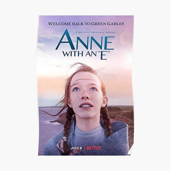 Anne con una serie E Netflix Póster