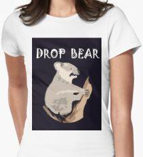DROP BEAR Womens Fitted T-Shirt