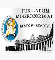 Extraordinary Jubilee of Mercy with logo, 2015 - 2016 (A) Poster
