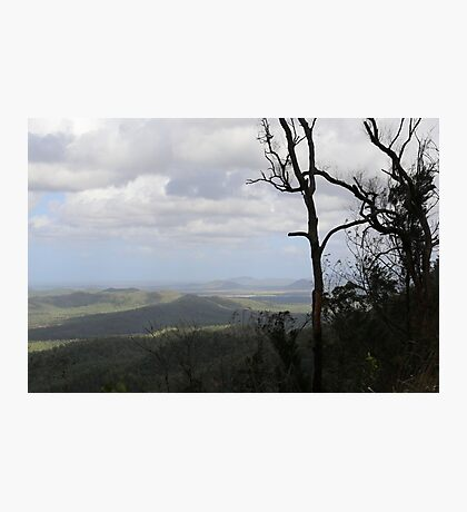 Across the mountains - Townsville, Queensland Photographic Print