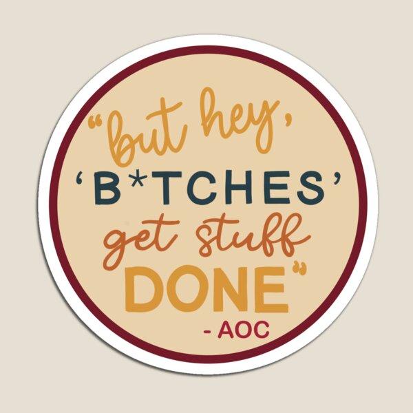 AOC Quote Magnet