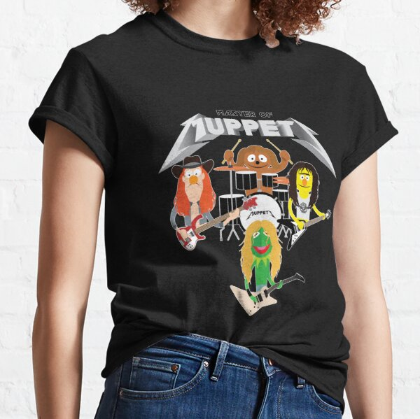 Master of Muppets 2 - Muppets as Metallica Band Classic T-Shirt