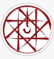 Pegatina Full Metal Alchemist Blood Seal