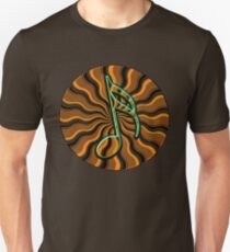 Earthy Semiquaver -  16th Note Music Symbol Unisex T-Shirt