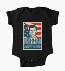 Archer For President One Piece - Short Sleeve