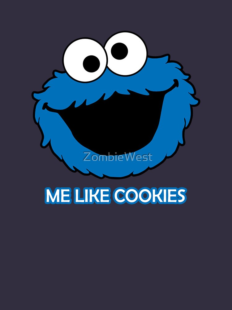 Blue Cookie Monster | Women's T-Shirt