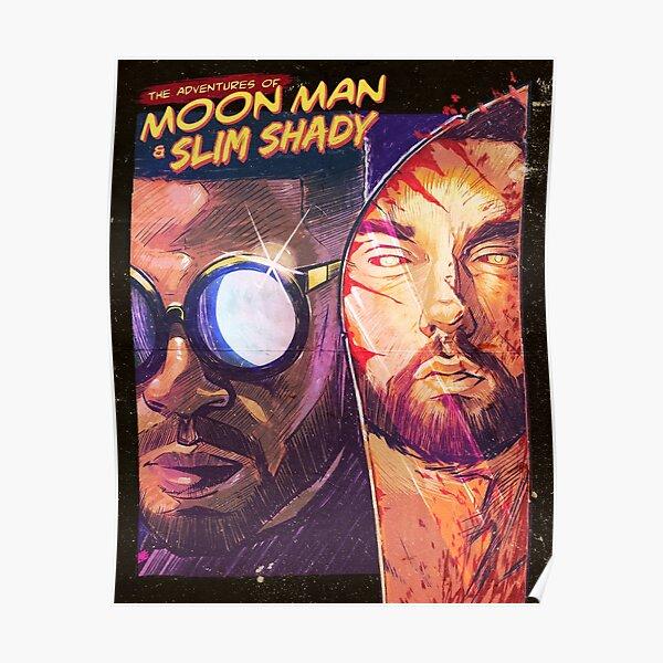 The Shady Moon Man Poster