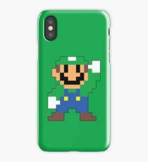 Super Mario Maker - Luigi Costume Sprite iPhone Case/Skin
