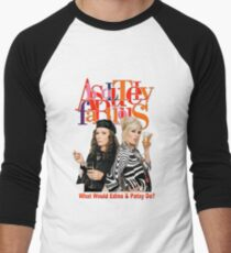 Absolutely Fabulous Patsy Stone and Edina Monsoon Men's Baseball ¾ T-Shirt