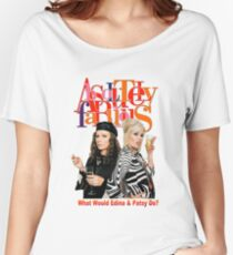 Absolutely Fabulous Patsy Stone and Edina Monsoon Women's Relaxed Fit T-Shirt
