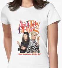 Absolutely Fabulous Patsy Stone and Edina Monsoon Women's Fitted T-Shirt