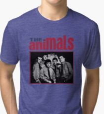 The Animals Band Tri-blend T-Shirt