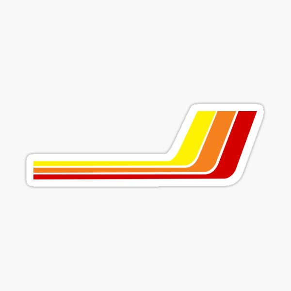 Toyota inspired racing stripes for RC Cars (Left) Sticker