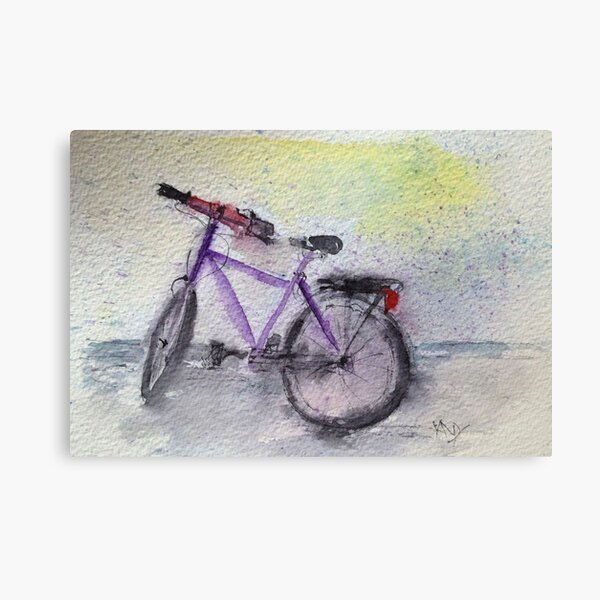 Rode Home in the Rain Canvas Print